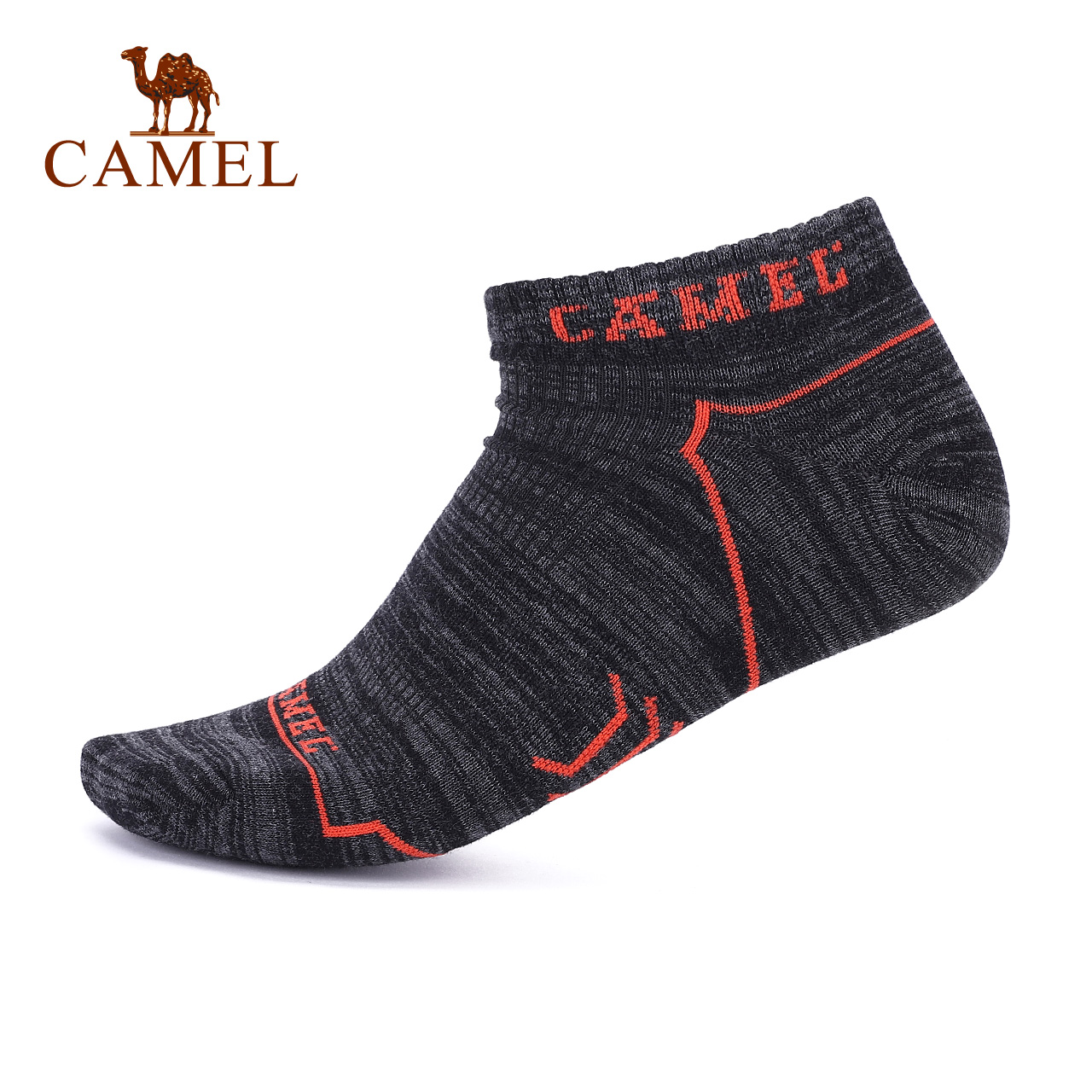 户外运动袜子 徒步休闲舒适透气徒步运动男子短袜子