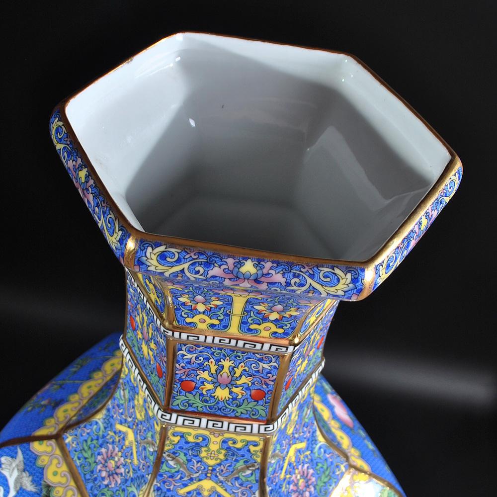鸿轩陶瓷器仿古瓷花瓶HX-5330