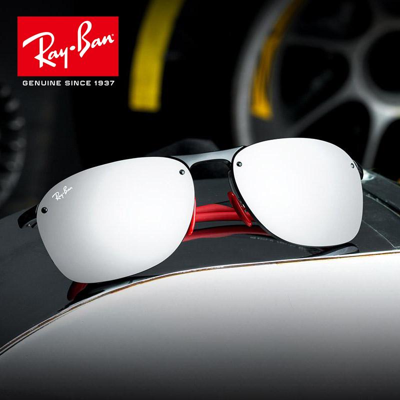 RayBan雷朋 2018夏季新品法拉利车队太阳镜德国赛事款0RB4302M