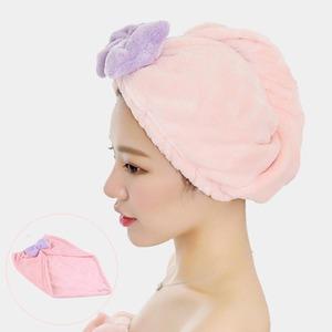 浴帽防水成人女款洗头帽吸水干发帽日本包头多功能擦头发速干帽
