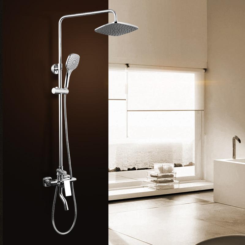 JOMOO九牧卫浴淋浴花洒套装 浴室冷热喷头淋浴器36335
