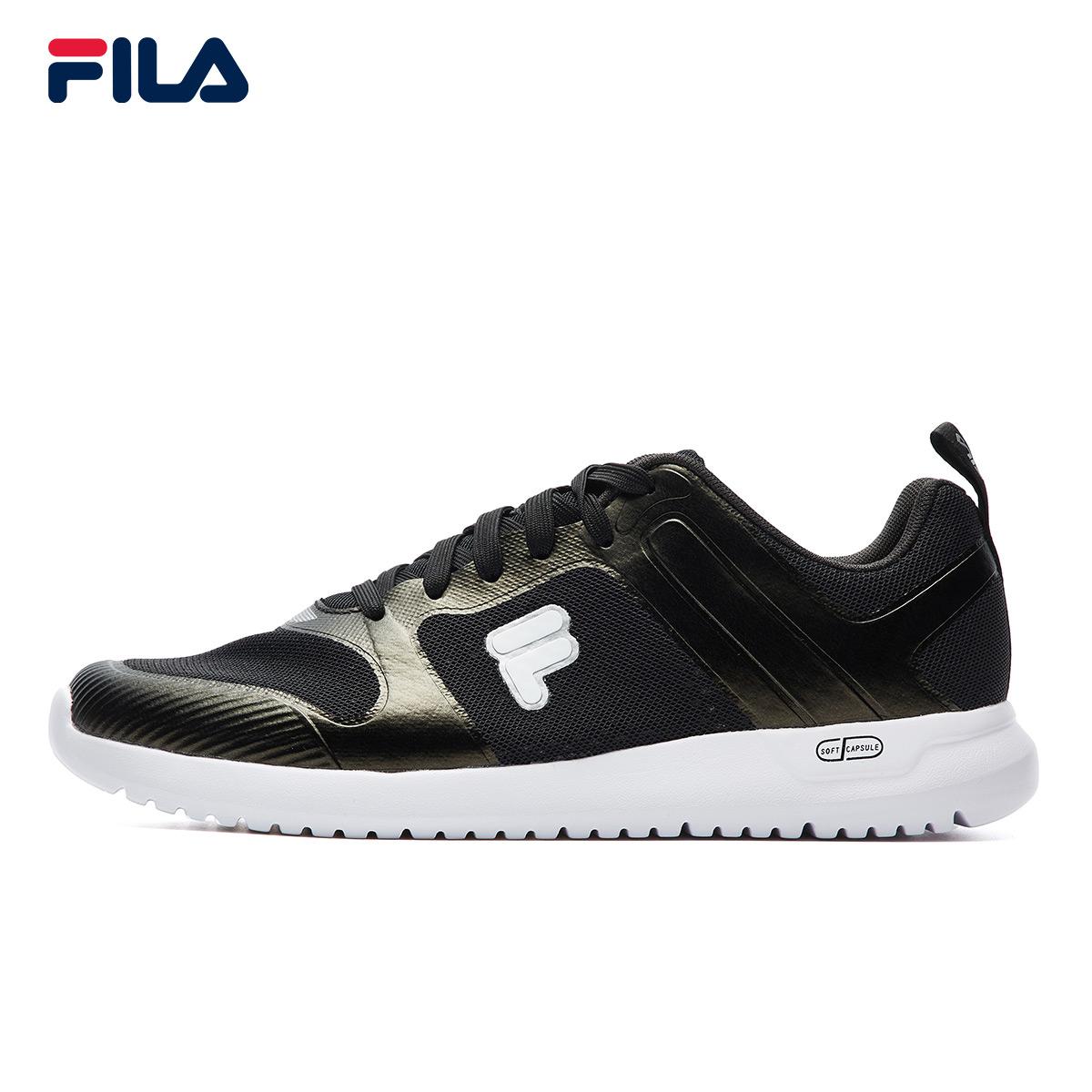 FILA斐乐男鞋2018夏季新款运动鞋跑步鞋简约易搭透气网布训练鞋男
