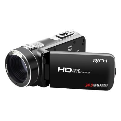 RICH-莱彩 HD-913数码高清专业摄像机家用dv迷你旅游婚庆录像机