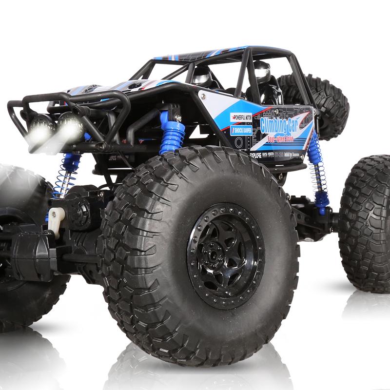 超大号攀爬遥控汽车儿童玩具车男孩充电四驱遥控车电动越野车赛车