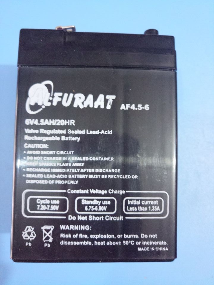 充电蓄电池 6V 4v电子秤专用(发货只发江苏、上海、浙江、安徽)