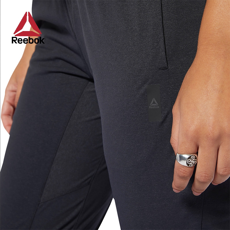 Reebok锐步官方 运动健身 TS WOVEN PANT 女子训练长裤 FKT97