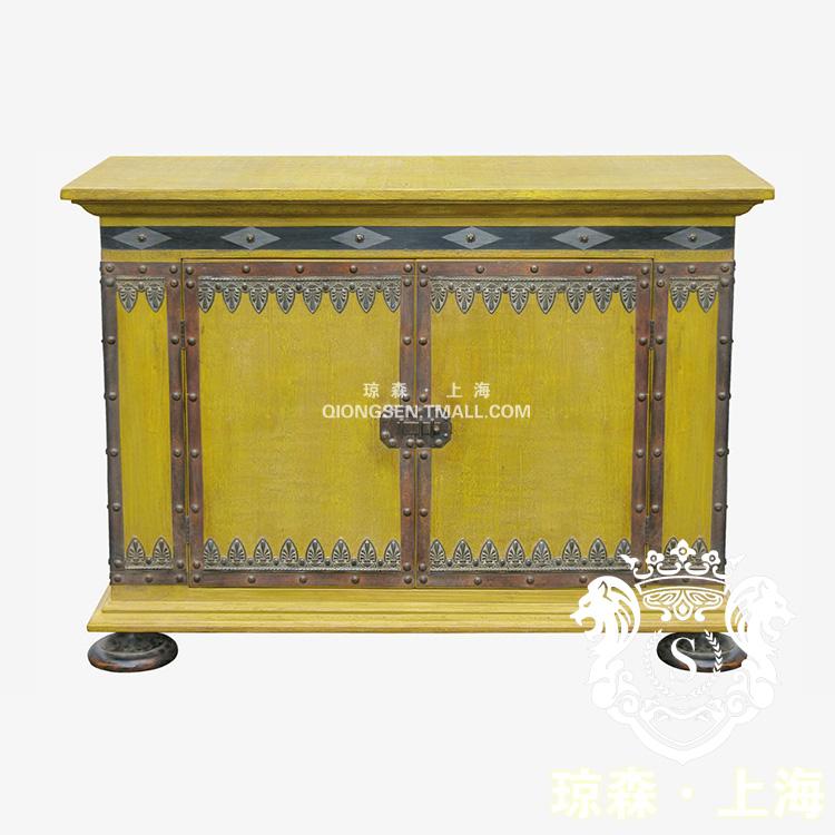 琼森新古典做旧实木柜9x001 (79)