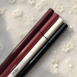 升级版!Tasu彩色眼线液笔不易晕防水速干酒红/砖红/冷灰/黑/棕色