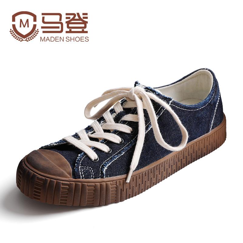 鞋子男潮鞋帆布鞋韩版百搭休闲鞋板鞋硫化鞋男士秋季2018新款男鞋