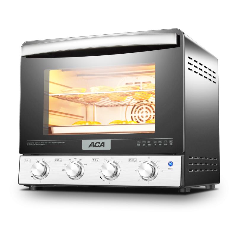 ACA-北美电器 ATO-M38AC电烤箱家用烘焙多功能全自动蛋糕立式烤箱