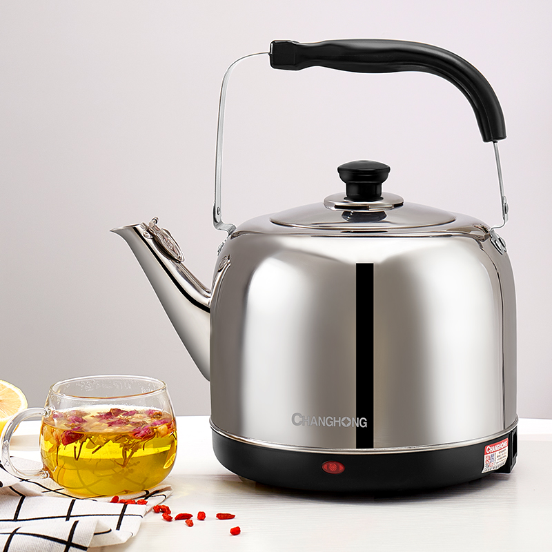 Changhong Kettle Electric 5L Household large capacity automatic power off electric kettle boiled water hoist 304 stainless Steel