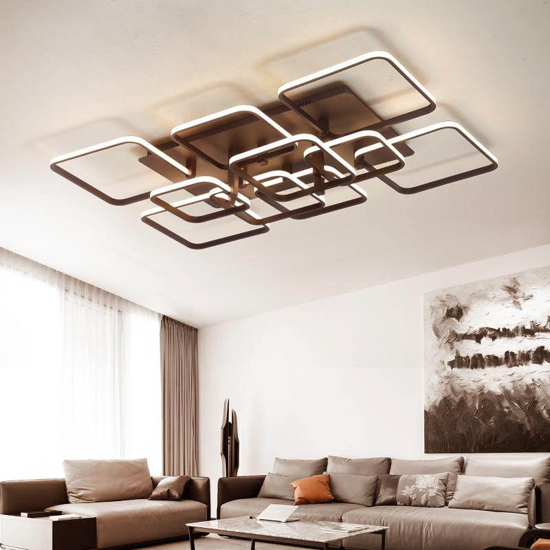 客厅灯简约现代大气家用灯具客厅卧室灯led吸顶灯后现代风格灯饰