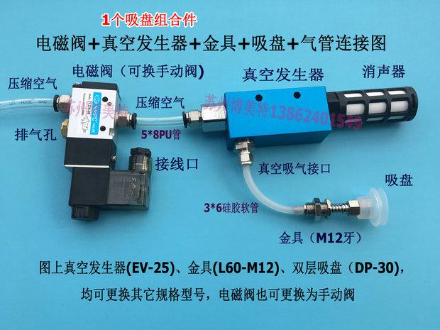 要配套空压机或者气泵才能使用,自助下单的买家请备注电磁阀[ac220v图片
