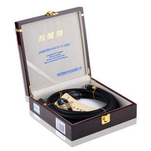 Choseal/秋叶原 AA-5401 发烧级单晶铜音频线RCA 1.5米 音频信号