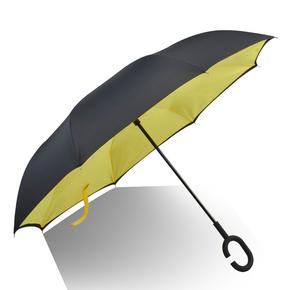 创意长柄超大反向伞晴雨两用伞
