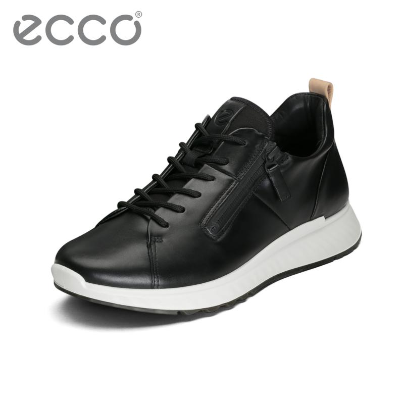 ECCO爱步2018时尚休闲运动鞋男 舒适轻盈户外低帮鞋适动836144