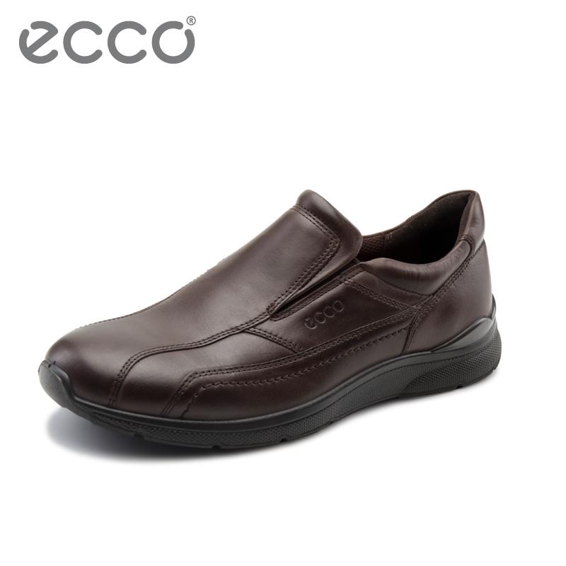 ECCO爱步男鞋 时尚耐磨休闲套脚低帮步行鞋 欧文 511524