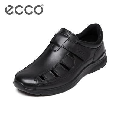 ECCO爱步时尚个性轻盈凉鞋 镂空透气舒适运动休闲鞋 欧文511534