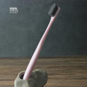 宾馆酒店家用待客情侣竹炭成人超细软毛一次性小头牙刷牙具20支套