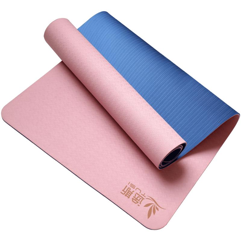 途斯tpe瑜伽垫加宽加厚加长初学者防滑瑜珈垫女健身垫子地垫家用