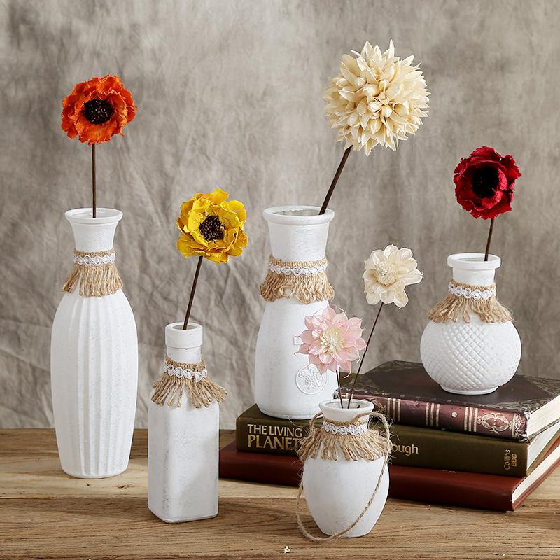 海贝海花瓶玻璃透明摆件