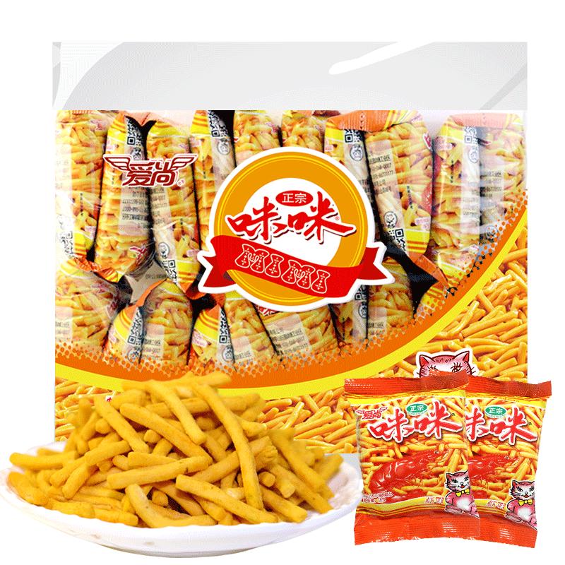 爱尚咪咪虾条18g*20薯片薯条