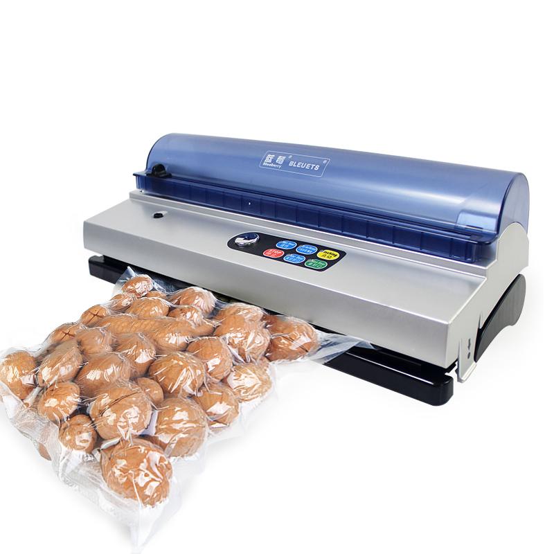 蓝莓牌米砖袋真空包装机面包阿胶饼干烤鸡鸭家用食品抽真空封口机