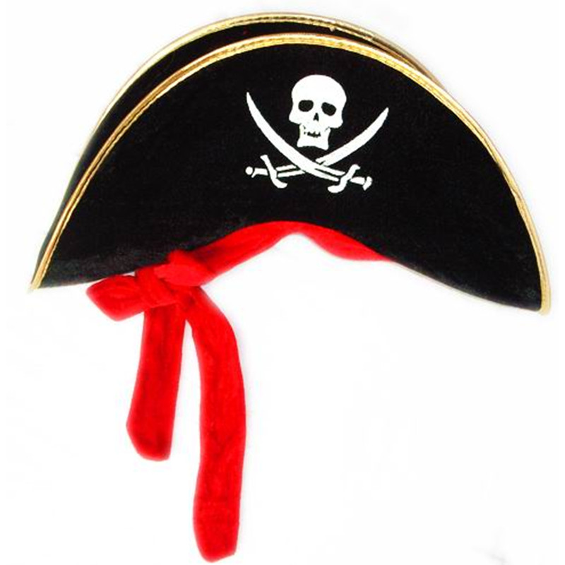 Pirate captain hat
