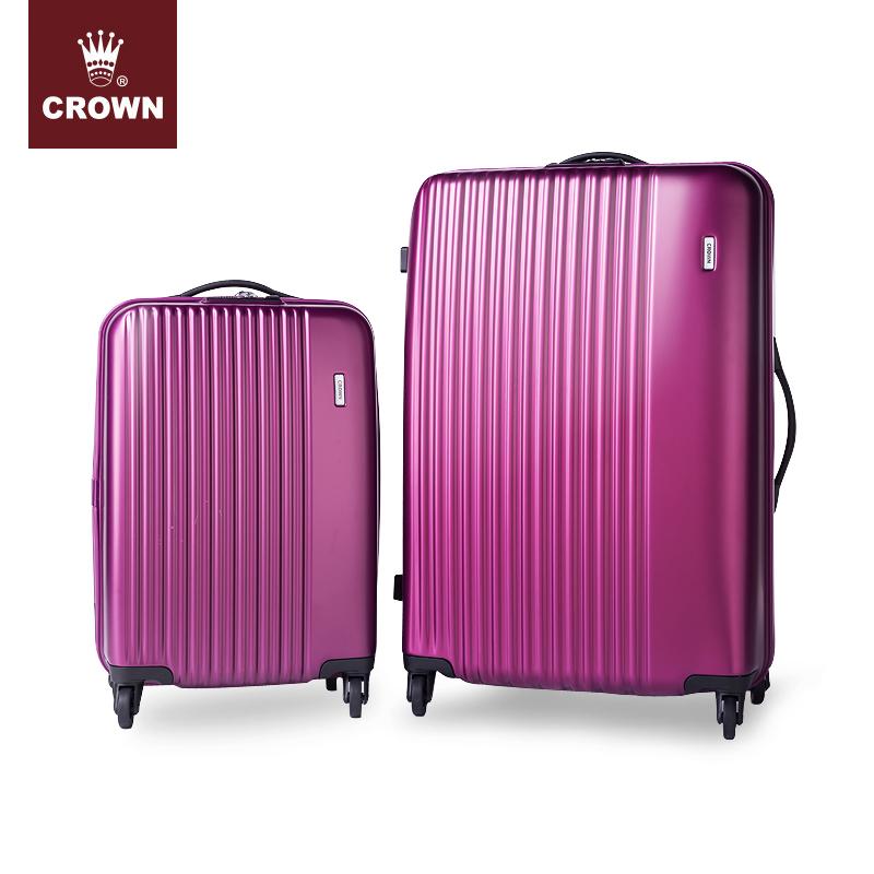 CROWN-皇冠子母箱 万向轮套装箱行李箱 拉杆箱旅行箱5161