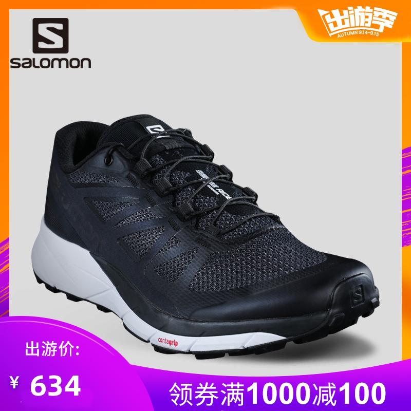 Salomon 薩洛蒙男款戶外輕便越野跑鞋  SENSE RIDE