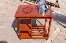 Резной чайный стол Forest wood tribe
