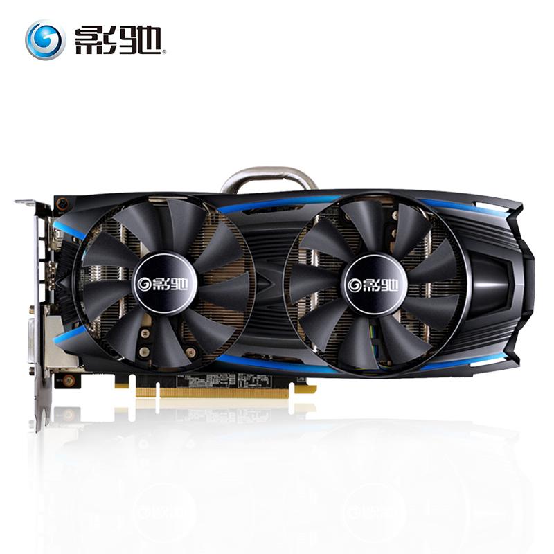 影驰GTX1060黑将3G独立台式机电脑显卡 吃鸡游戏显卡游戏高清HDMI