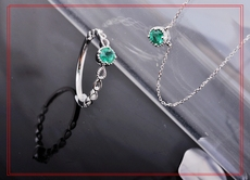 ожерелье June/King jewelry pe50085 18 18k