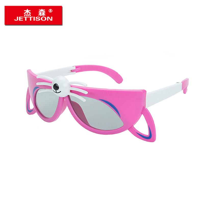杰森儿童3d眼镜 不闪式偏光立体眼镜3D眼睛电影院专用 万达电影院