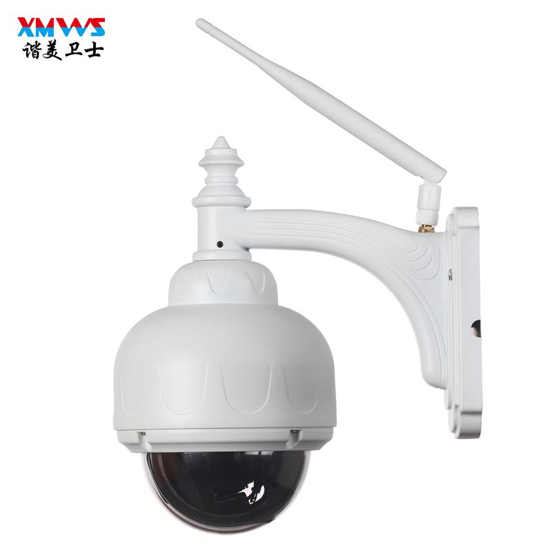 室外无线摄像头手机远程对讲wifi球机360度监控器高清套装家用