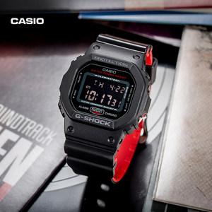 casio旗舰店DW-5600电子运动男士手表小方表卡西欧官网G-SHOCK