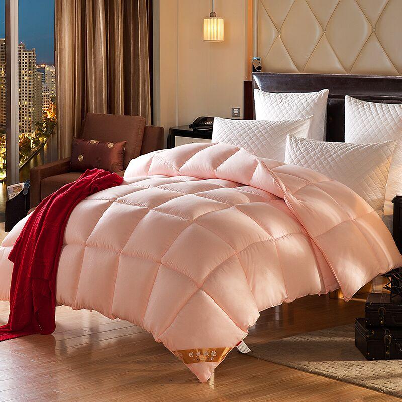 冬天盖加厚保暖被套被芯套装全棉被子秋冬季羊羔绒冬被褥单人10斤
