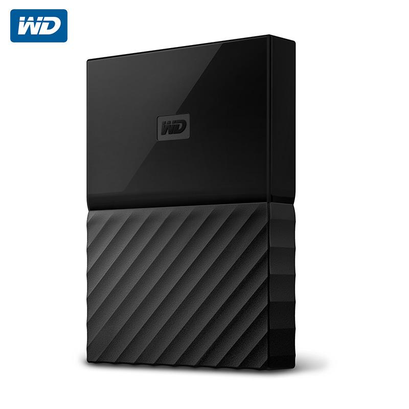 WD西部数据 My Passport 2t 移动硬盘2tb西数硬盘2TB带加密功能