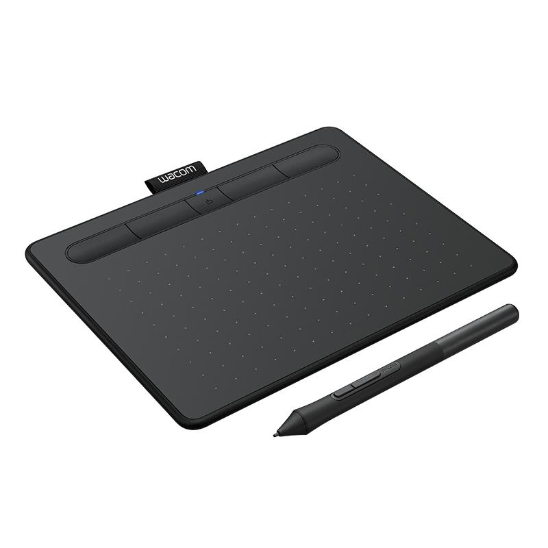 wacom手绘板 影拓数位板 无线蓝牙绘画板ctl4100WL电脑手写ps绘图
