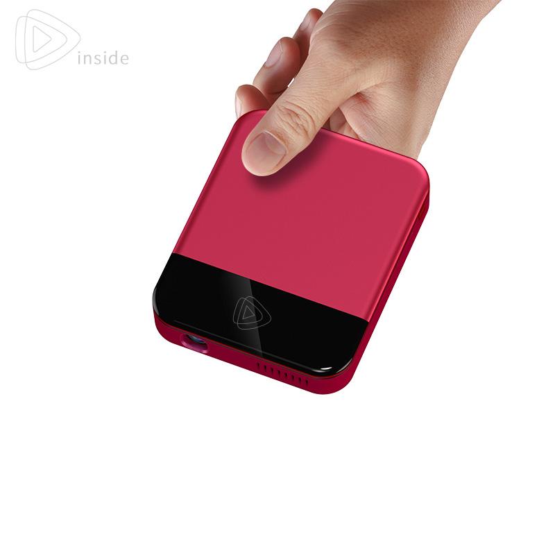 2018新款手机投影仪家用小型迷你wifi微型无线高清1080p家庭影院安卓便携4K智能无屏电视办公教学移动放映机