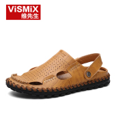 ViSMiX Men's 2017 Leather Sandals
