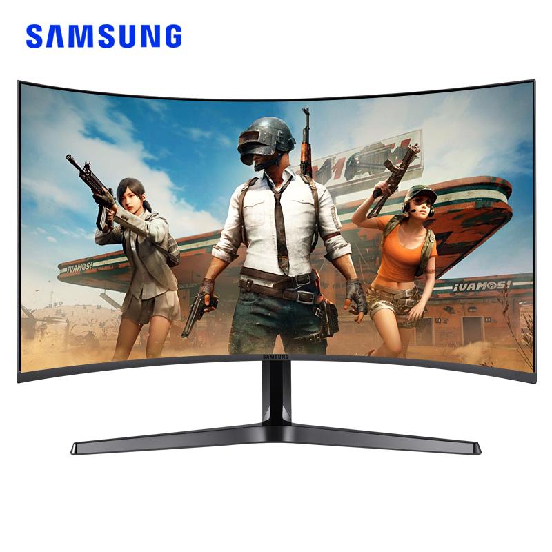 三星显示器144hz C27JG50QQC 27英寸2K曲面 吃鸡游戏电竞电脑曲屏