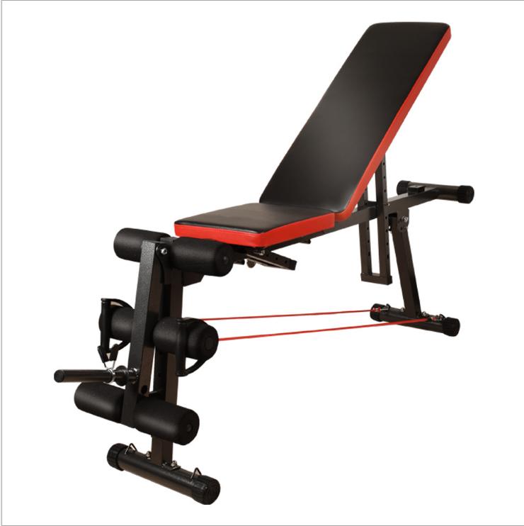 依尔思多功能哑铃凳 仰卧板腹肌板仰卧起坐板健身器材家用健身椅