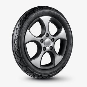 ibelieve爱贝丽高景观婴儿车配件后轮轮胎BB车内胎外胎121/2X21/4