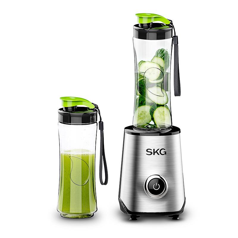 SKG 2097榨果汁机家用多功能便携迷你榨水果汁机全自动榨汁杯炸汁