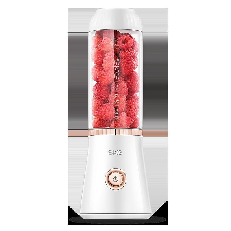 SKG 1291充电式便携式榨汁机家用全自动果蔬多功能迷你无线榨汁杯