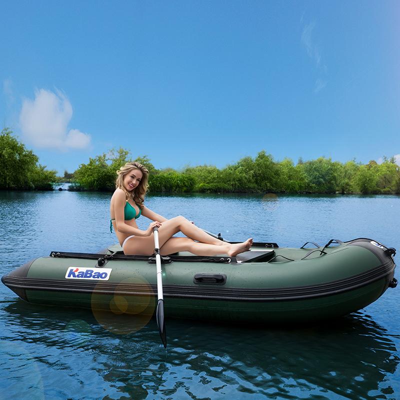 резиновая лодка с надувным дном и транцем