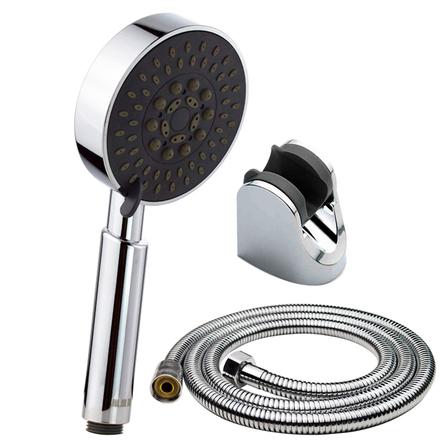 淋浴花洒喷头套装 浴室洗澡热水器淋浴头喷雾增压莲蓬头