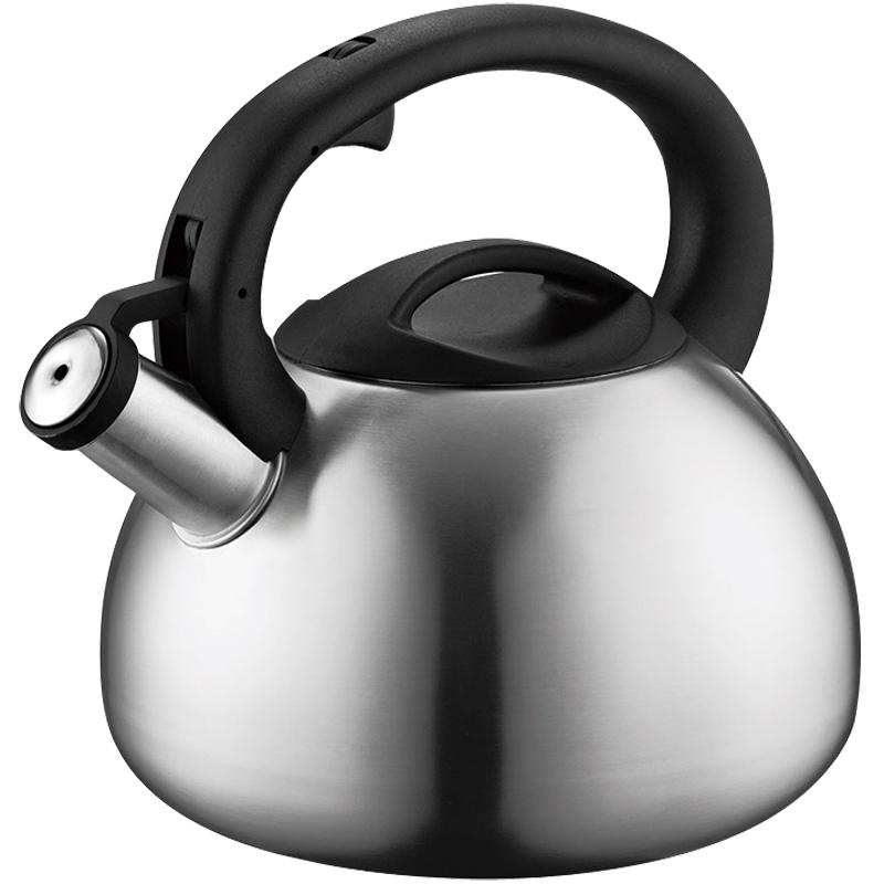 苏泊尔304不锈钢开水壶煤气燃气电磁炉茶壶自动鸣音烧水壶鸣笛