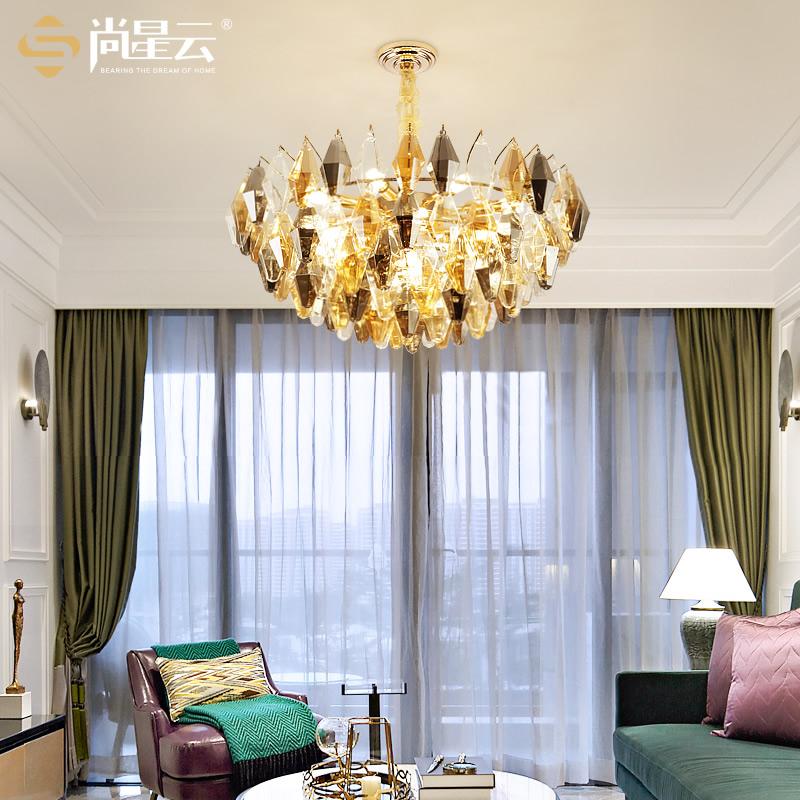 客厅吊灯北欧玻璃瓶轻奢后现代简约设计师风格服装店卧室餐厅灯具